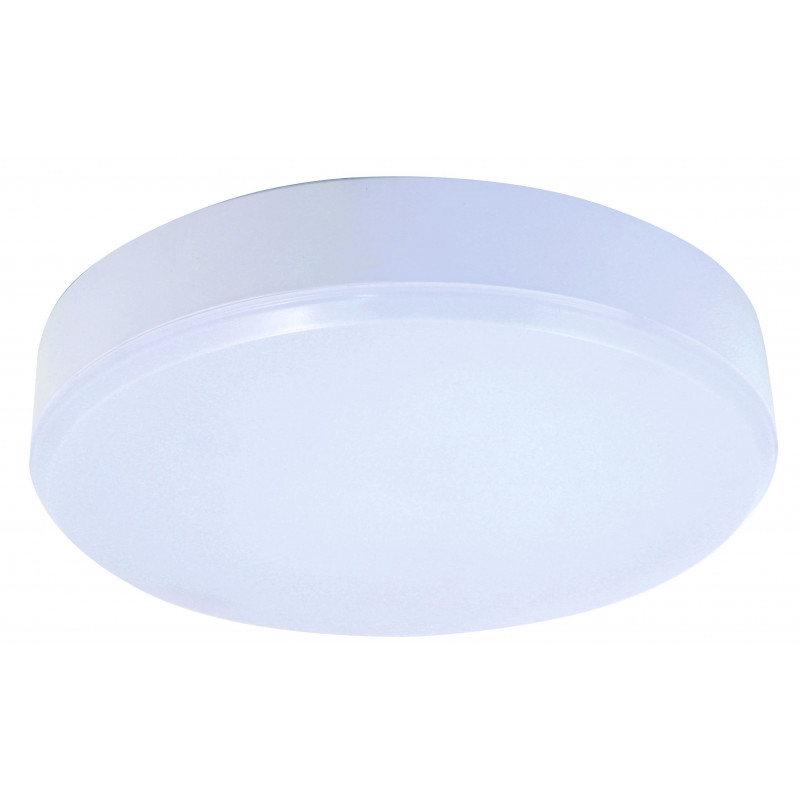 Plafoniera led integrati 24w tonda diametro 30cm ip44