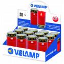 Bigil lumière votive led grand modèle piles incluses rouge