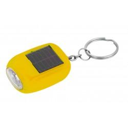 Portachiavi con luce a ricarica solare o dinamo