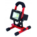 Cyclop rechargeable 10w led worklight with ac/dc function