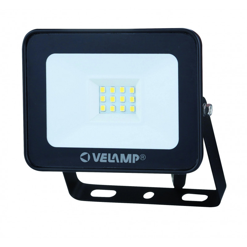 Padlight3 10w led smd floodlight ip65 black 6500k