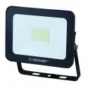 Padlight3 20w led smd floodlight ip65 black 6500k