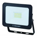 Padlight3 projecteur led smd 20w ip65 noir 6500k