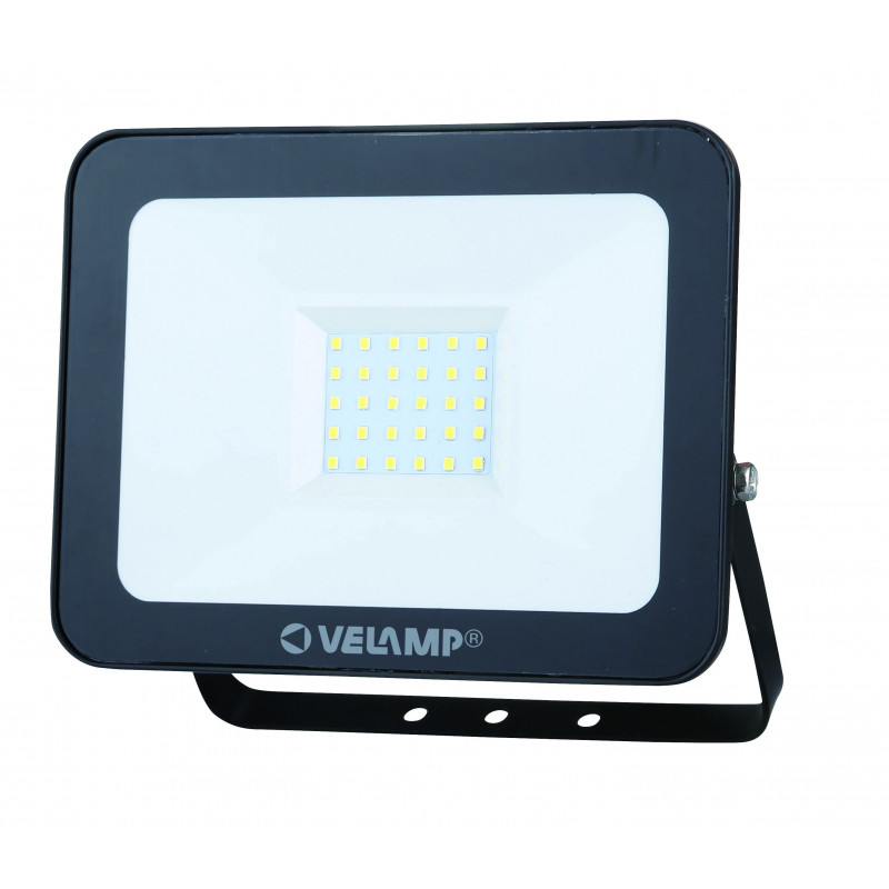 Padlight3 30w led smd floodlight ip65 black 6500k