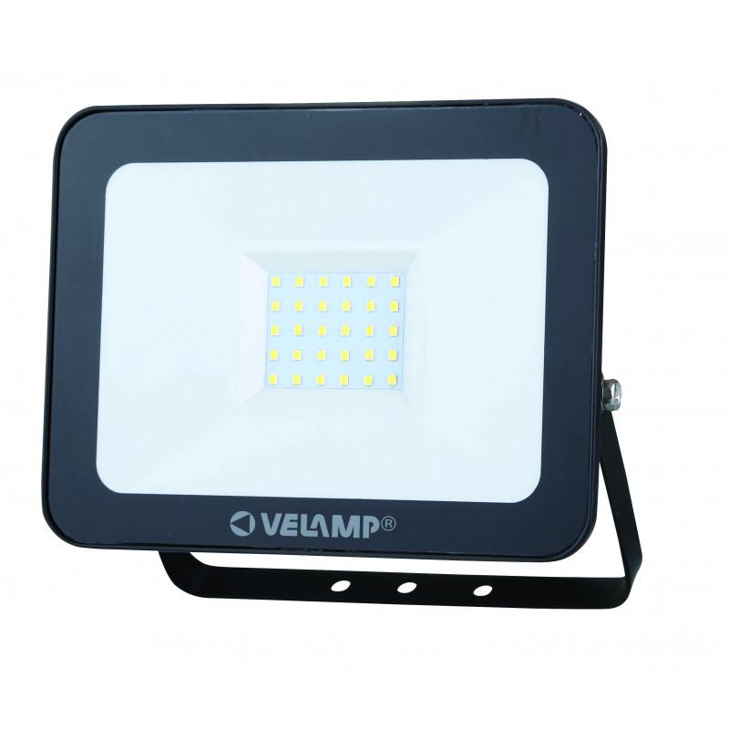 Padlight3 projecteur led smd 30w ip65 noir 6500k