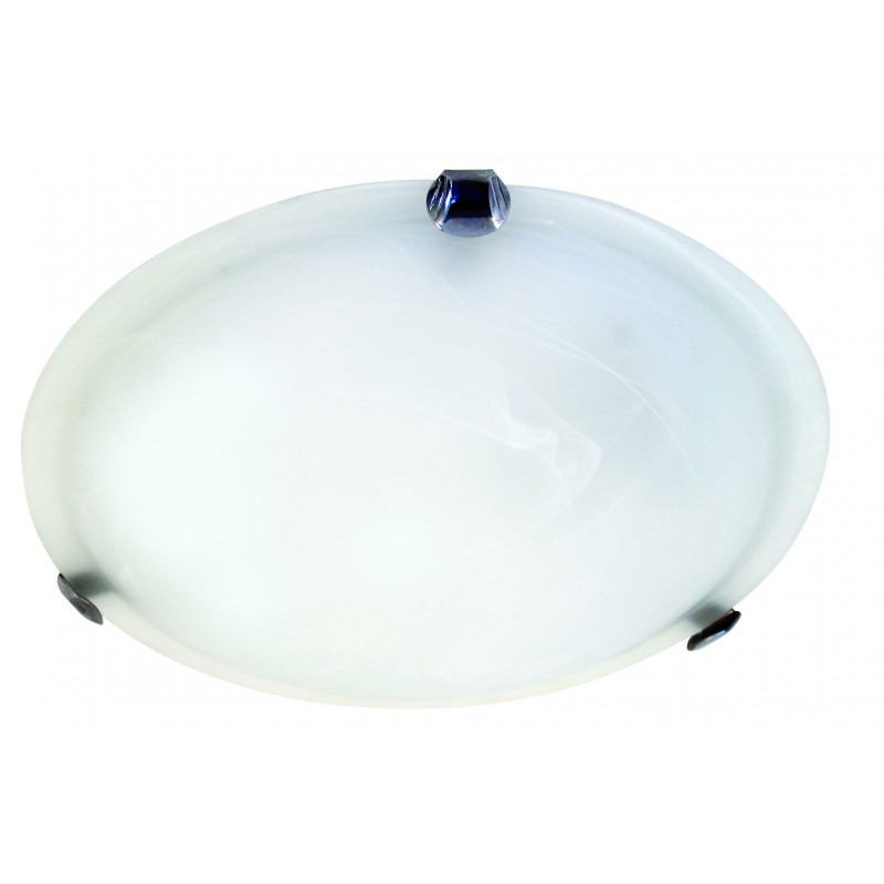 Sirio white alabaster 14w led ceiling lamp 30 cm diameter