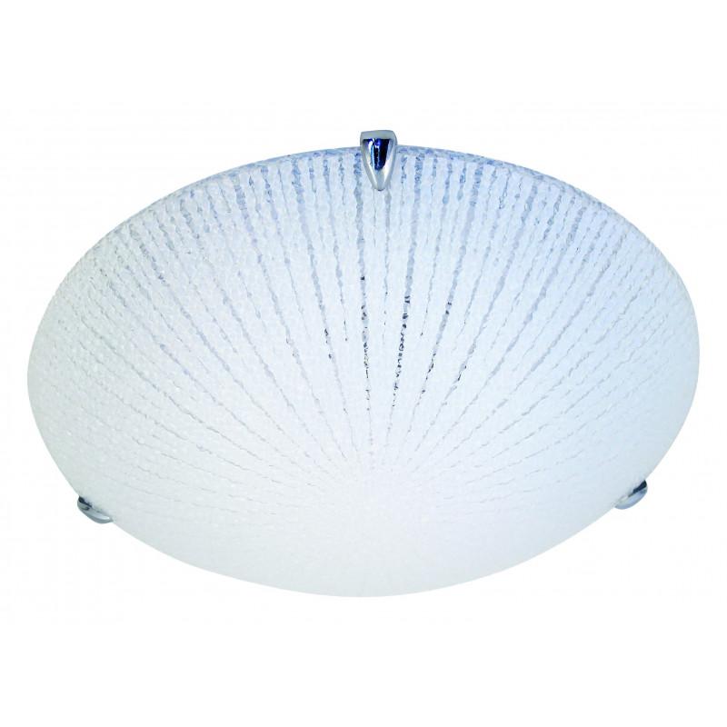 Vega plafonnier led intégrées 14w en verre diamètre 30cm