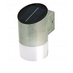 Fire fly aplique led solar 20 lumen de acero con cds