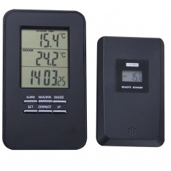Indoor and outdoor weather station