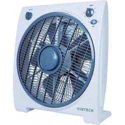 Ventilatore tipo box fan 30cm con timer katia