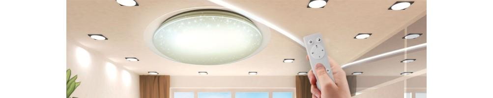 Plafonniers et panneaux LED