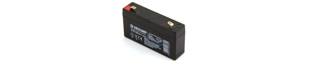 Baterias recargables al plomo