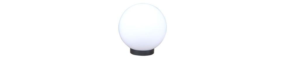 Lámparas esféricas APOLUX blancas