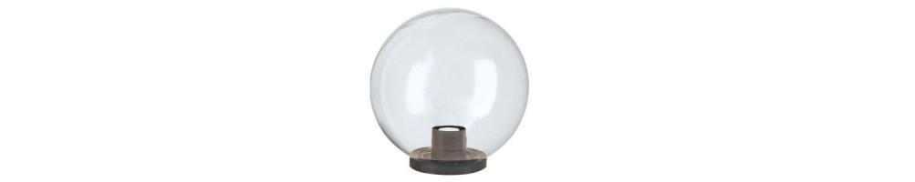 Lámparas esféricas APOLUX transparentes