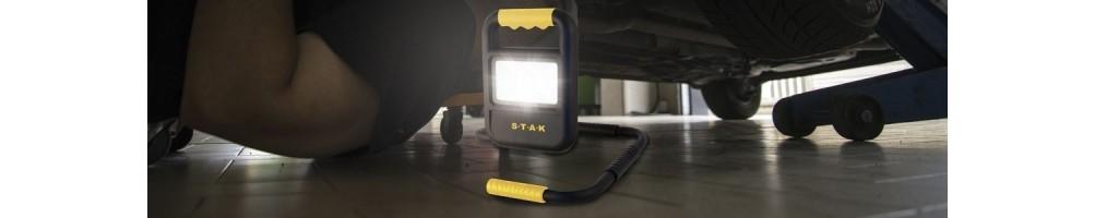 Projecteurs rechargeables pour professionnels