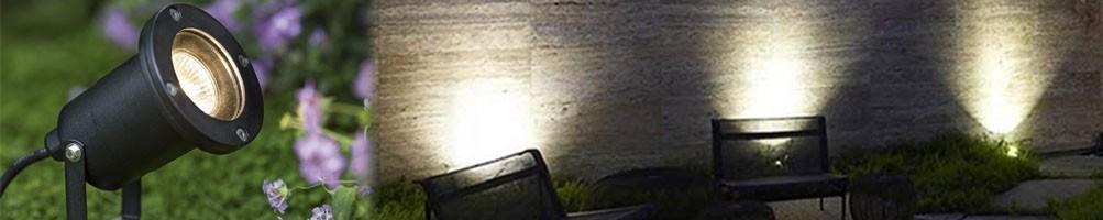 Ouotdoor spotlights for garden, terrace, stairs...