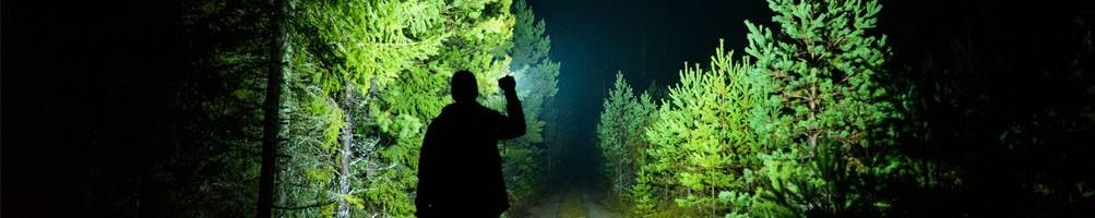 Leistungsstarke LED-Taschenlampen
