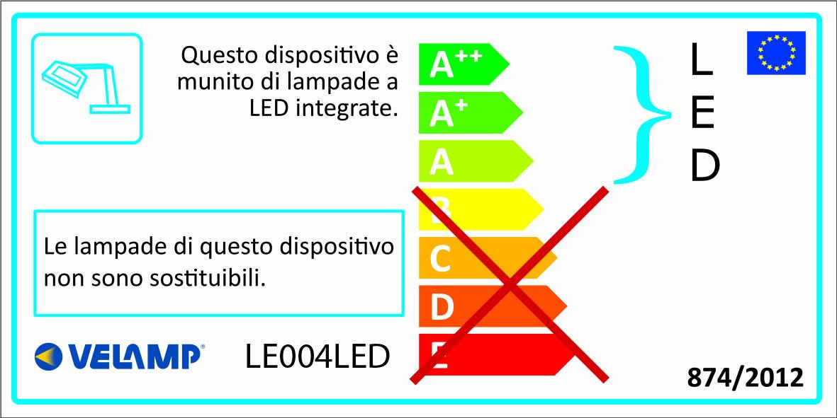 Energy Label Lampada led con lente di ingrandimento 3 e 12 diottrie magnifier4