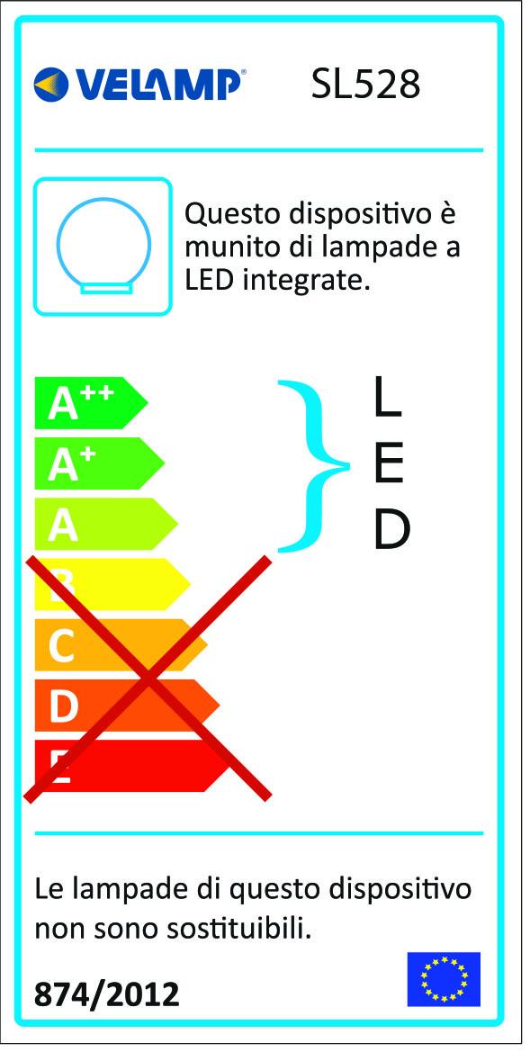 Energy Label Palla led rgb a ricarica solare 25cm telecomando solar nova